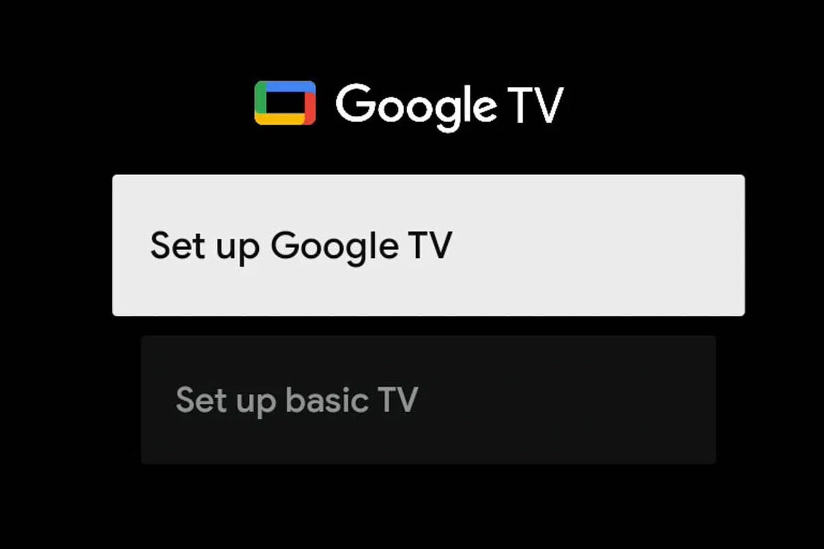 """Google TV will bring a new basic mode to disable all """"smart"""" features of the device"""