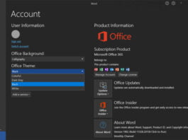 Microsoft is improving dark mode for Word: It's even darker now