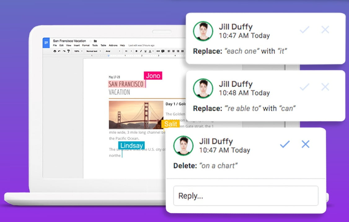 Google Docs is bringing with new features