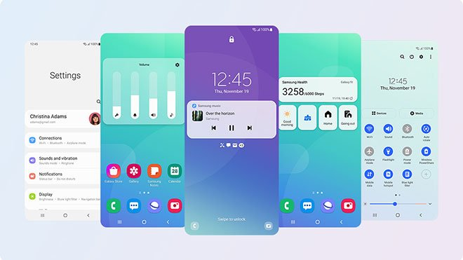 Which Samsung phones will receive One UI 4.0?