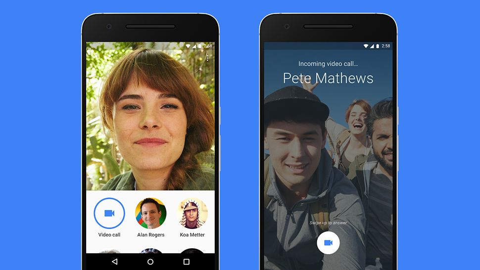 How to screen share in a video call on Google Duo?