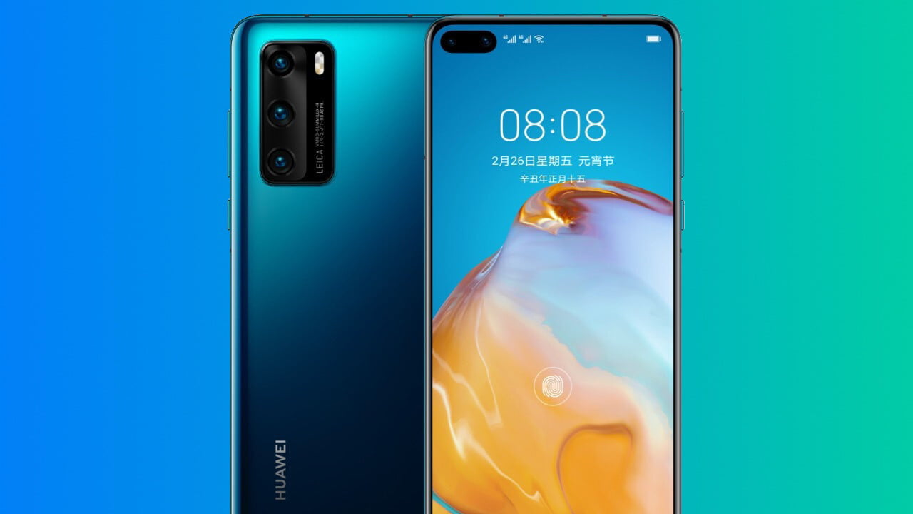 Huawei P40 4G specs, price and release date