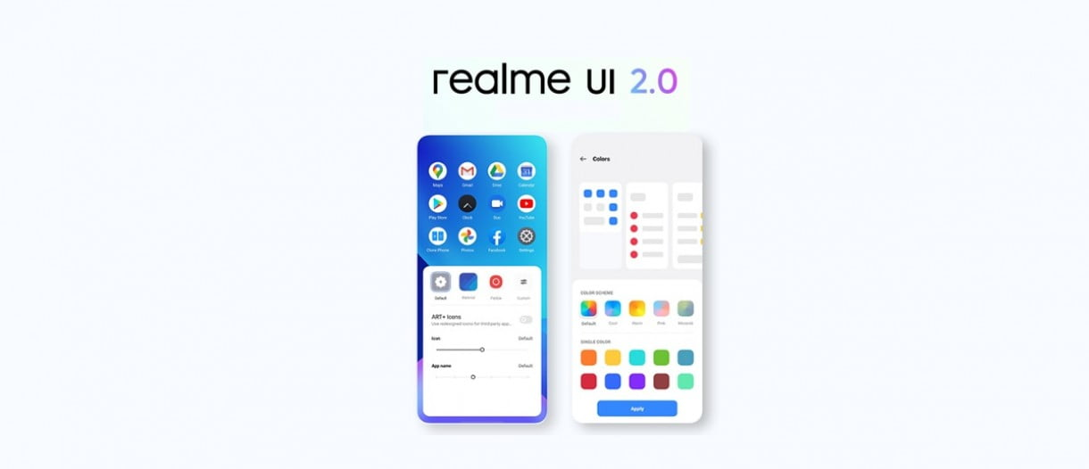 Realme UI 2.0 with Android 11 arrives at six more models