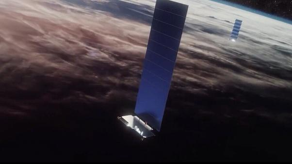 Elon Musk has plans to offer phone service with Starlink satellites