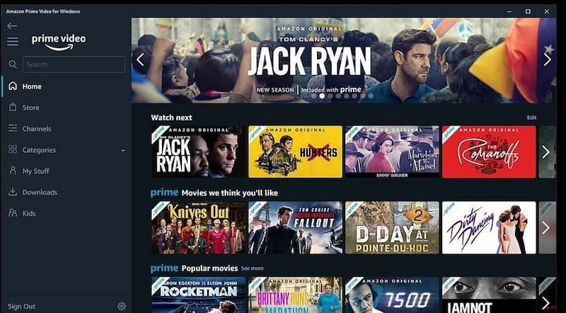 Amazon Prime Video wants to get ahead of Netflix and release the shuffle playback feature first