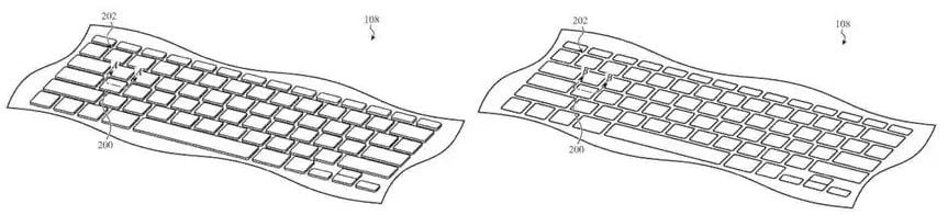 Apple devises a retractable keyboard to make MacBooks thinner