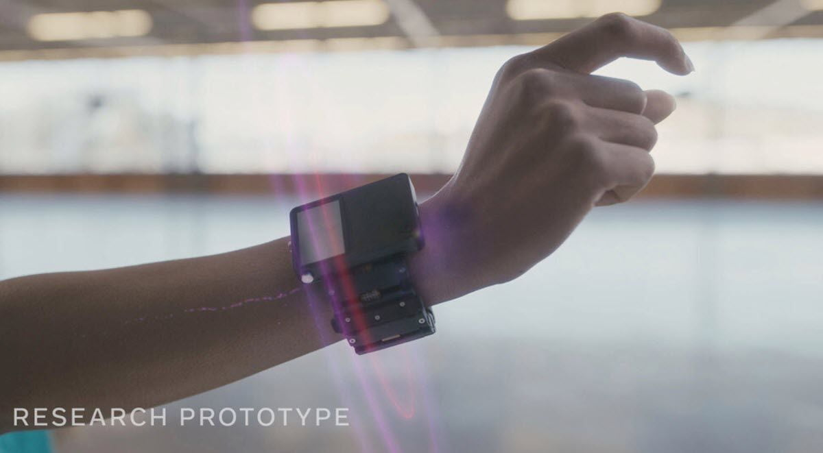 Facebook showcases a wristband that translates nerve signals into digital commands