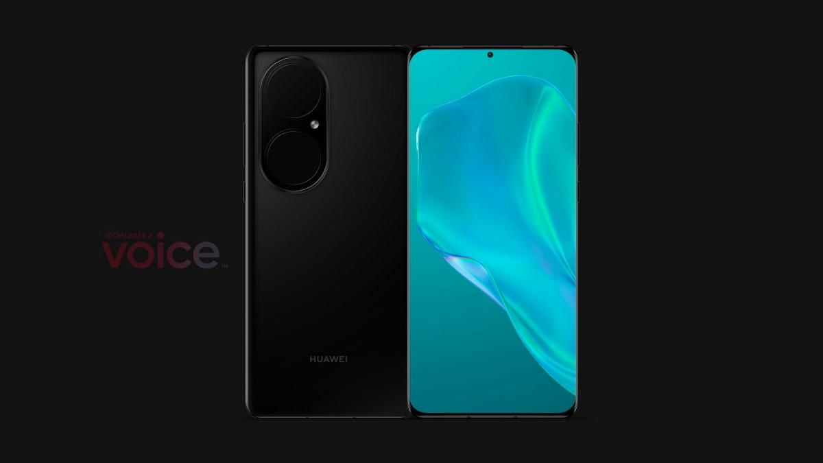 First images of the Huawei P50 Pro leaked
