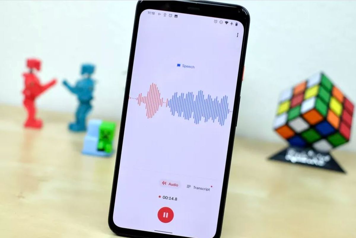Google Recorder is now backed up so you can access your recordings from its web version