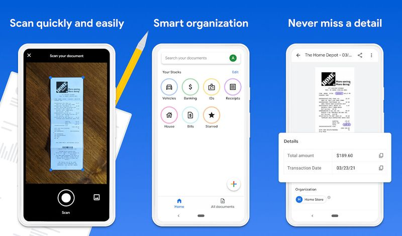 Google launches Stack, a smart document scanning and organizing app