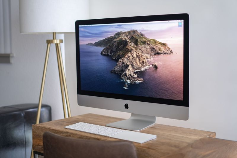 Here's the first iMac with M1 chip homemade from the guts of a Mac mini