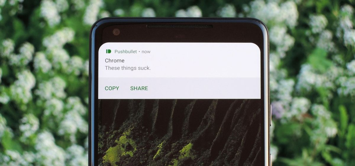 How to enable or disable floating notifications from appearing on the mobile screen?