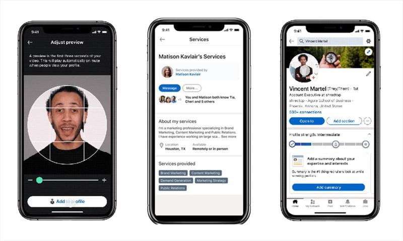 LinkedIn launches new features for job seekers