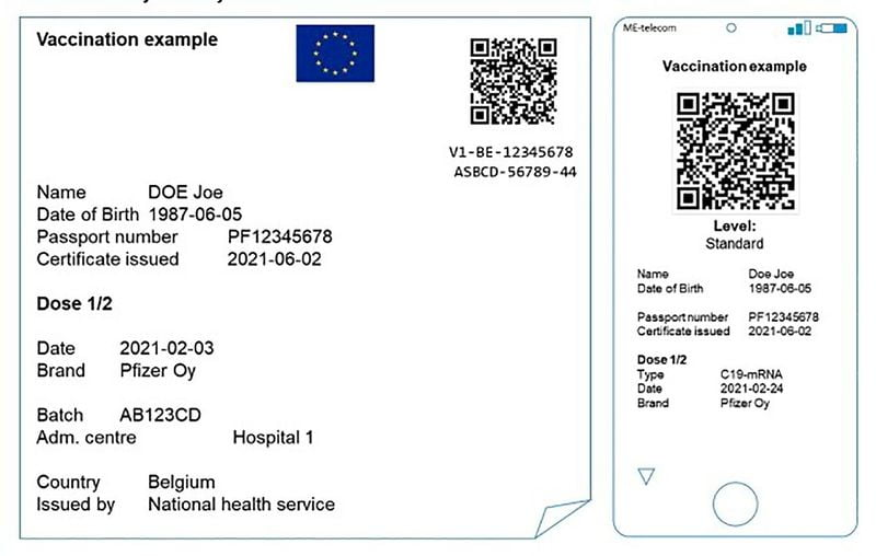 Mobile vaccination passport: How the European Union plans to make travel easier?