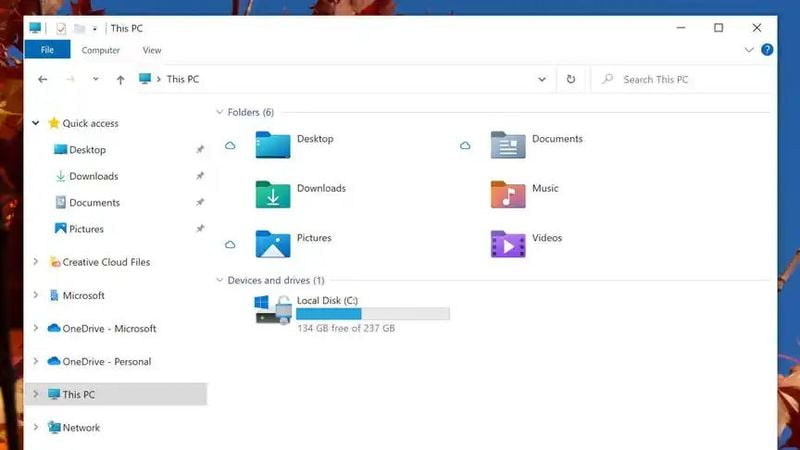 New Windows 10 icons: Microsoft presents a more colorful design