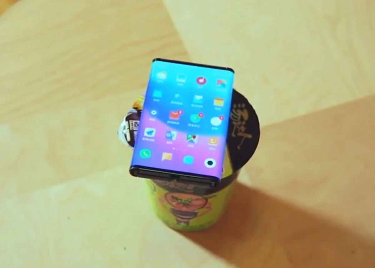 New real images of Xiaomi's upcoming foldable cell phone emerge