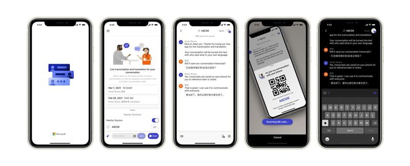 No more note-taking Group Transcribe is a free Microsoft app that lets you convert conversations to text