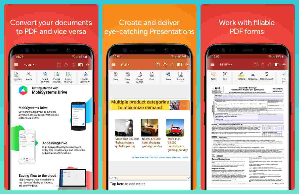 Best office app alternatives to Microsoft Word for Android