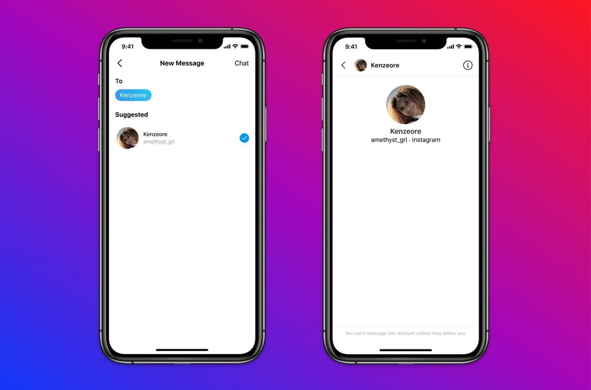 Instagram will prevent adults from sending messages to teens who don't follow them