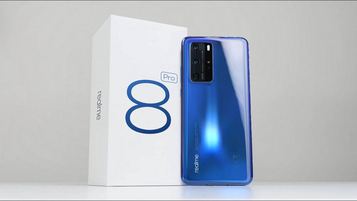 Realme 8 Pro, the brand's first mobile with a 108MP camera