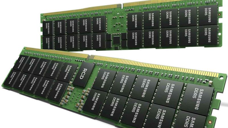 Samsung introduces 512GB DDR5 memory, twice as fast