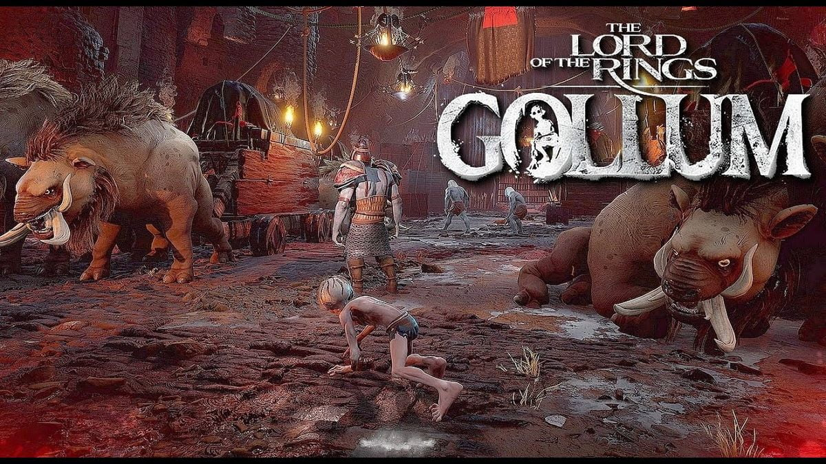 The first gameplay video of The Lord of the Rings Gollum now available 2
