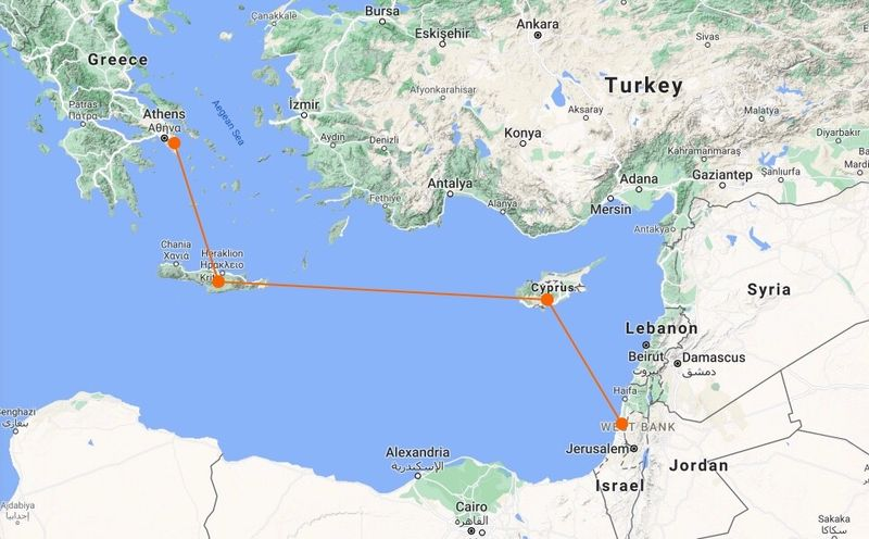 The world's longest undersea power cable will connect Israel, Cyprus, and Greece