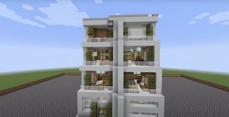 This AI is capable of regenerating buildings in Minecraft, and also even move trees and caterpillars
