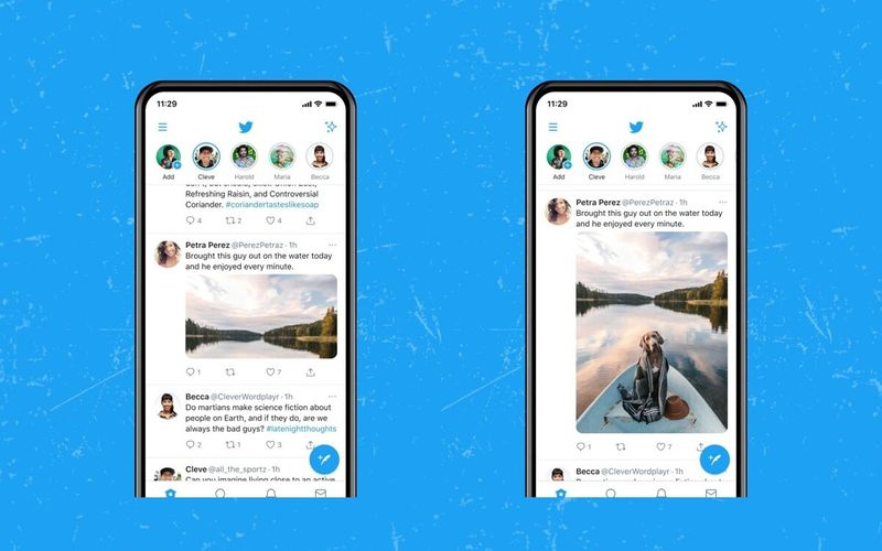 Twitter tests new image display modes on cell phones