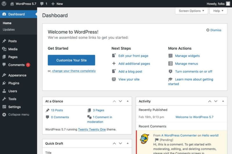 WordPress 5.7 is loaded with new features to make administration easier