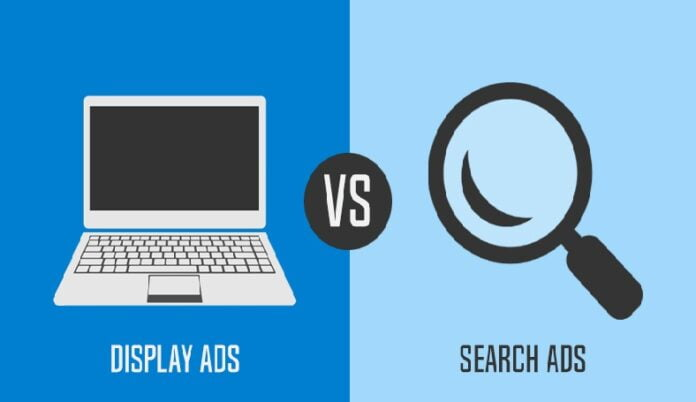 Search Ads vs Display Ads: What are the differences?