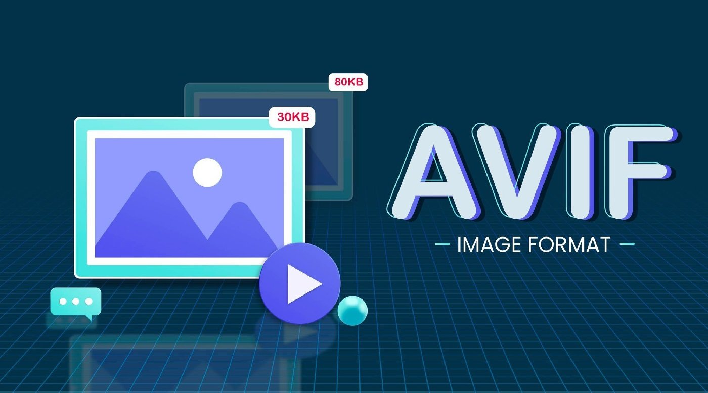What is the new image format AVIF and what does it offer?