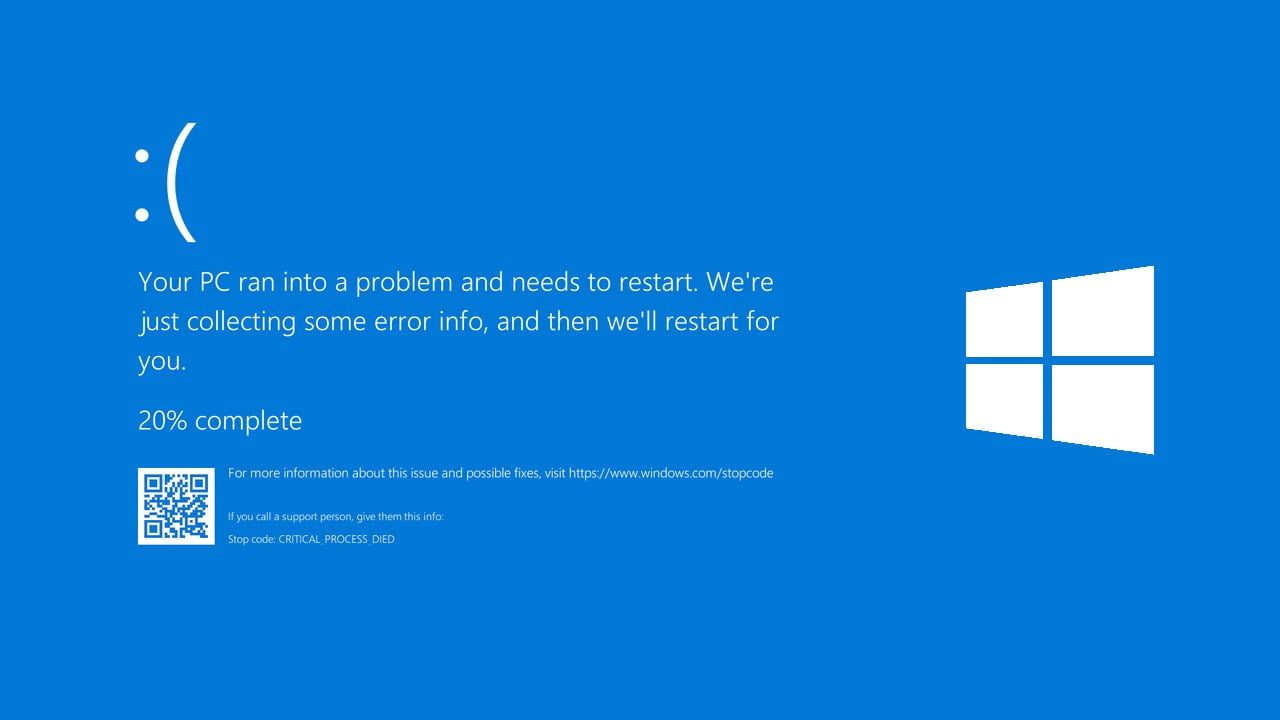 The blue screen bug is fixed with a new Windows 10 update
