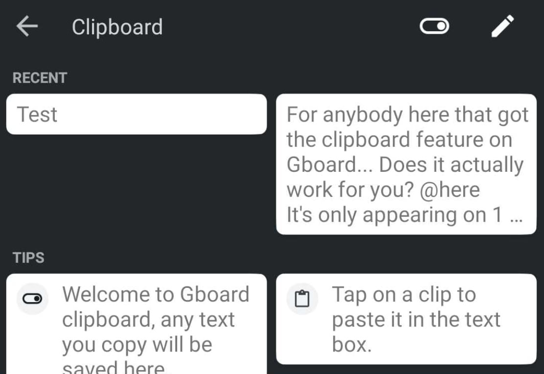 How to access and use the clipboard on Android smartphones?