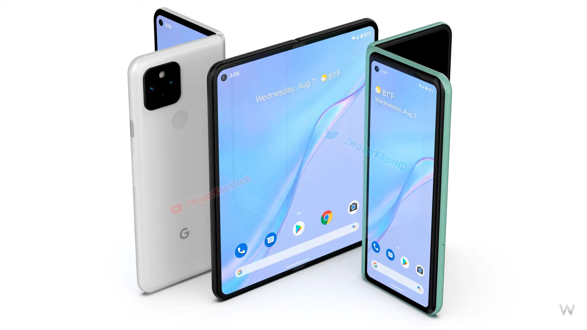 This video shows what a Google Pixel foldable could look like
