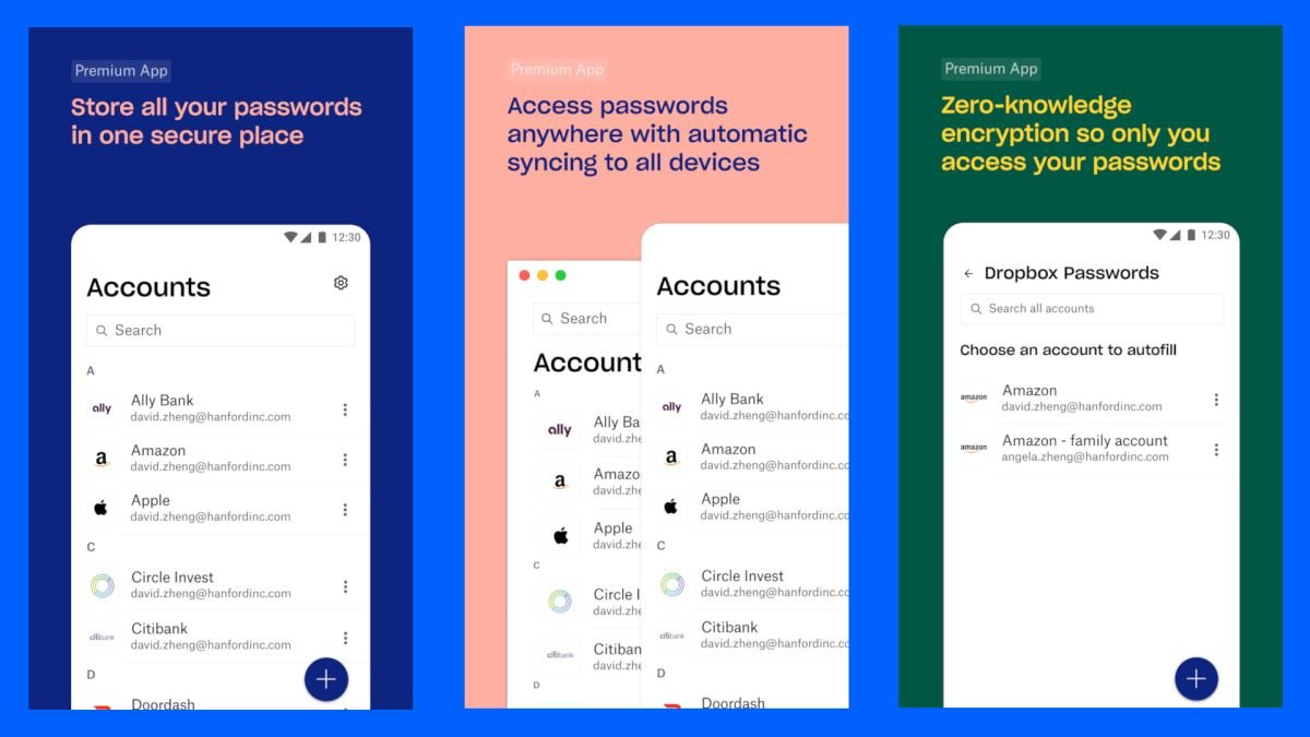 Dropbox has released its own password manager officially