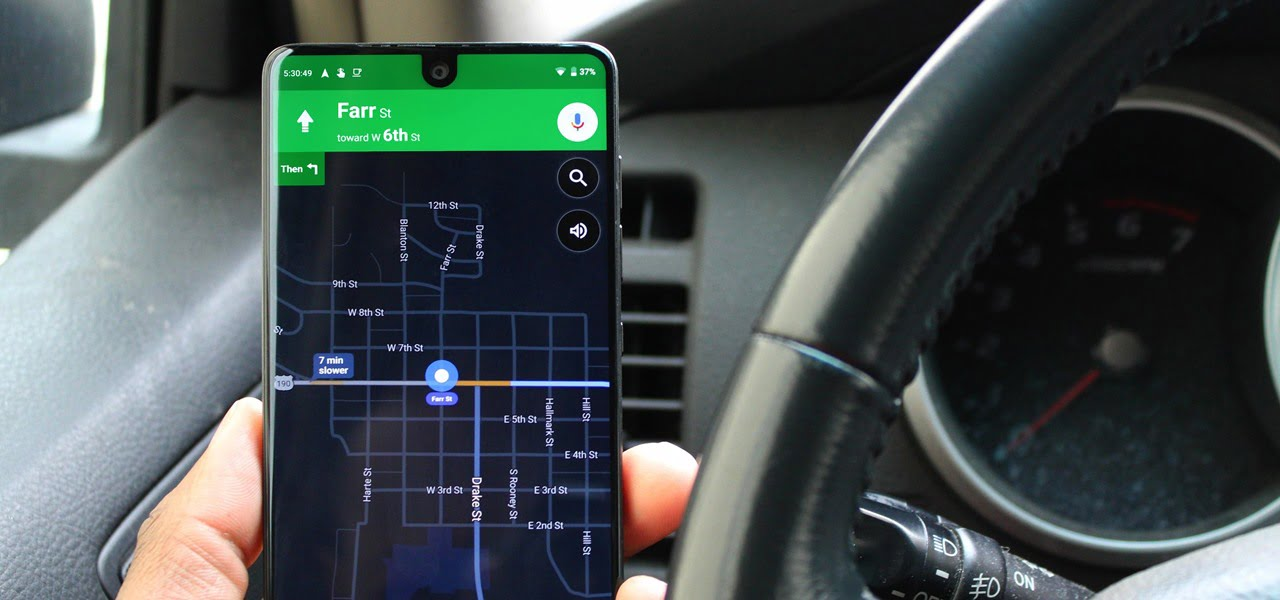 How to activate the dark mode on Google Maps?