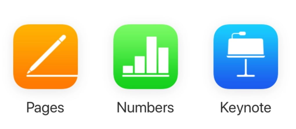 Apple updates Pages, Numbers and Keynote with new features