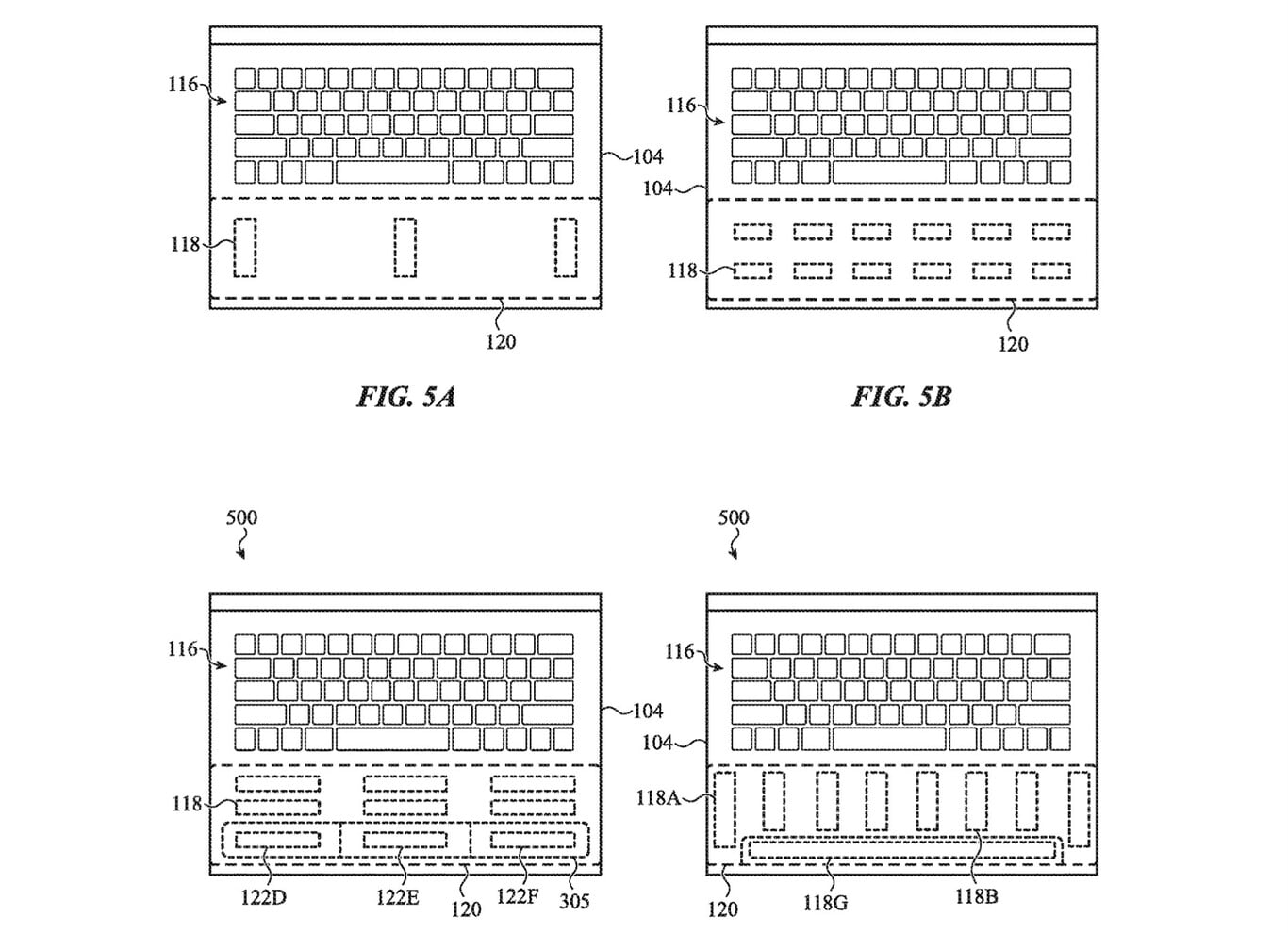 Apple's new patent shows future Macbook design with multiple haptic areas