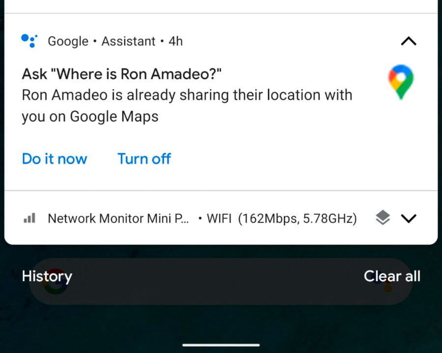 Google Assistant can show the location of your contacts on Google Maps