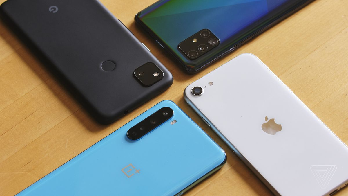 Smartphone sales will grow 50% in the first quarter of 2021