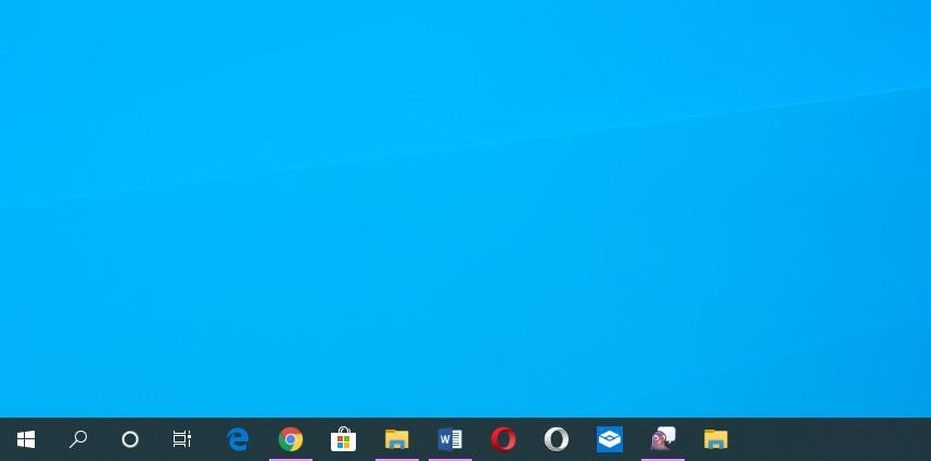 How to change the size and position of the taskbar in Windows 10?