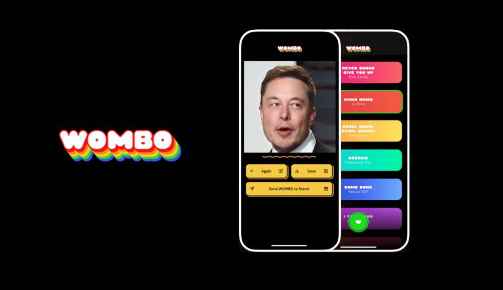 Wombo AI: the viral app will make your selfies sing