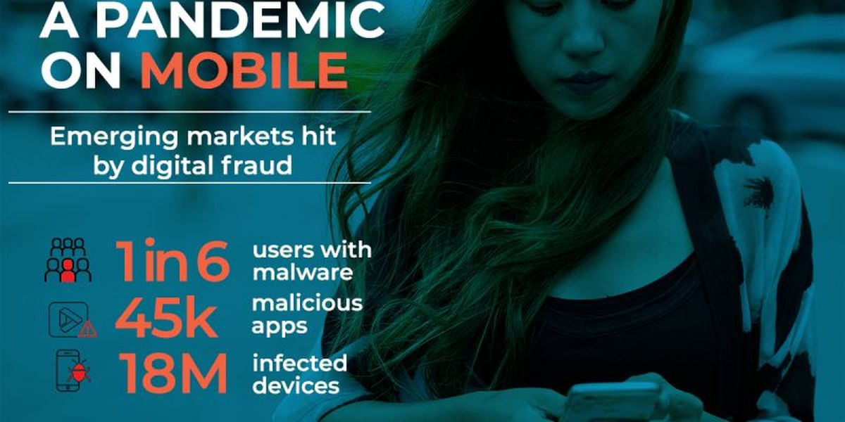 1 in 6 Android phones is infected with malware in developing countries