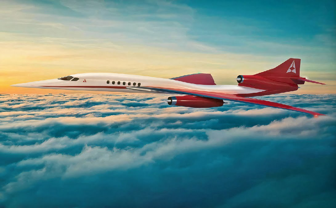 Aerion presented its AS3 Mach 4+ commercial aircraft