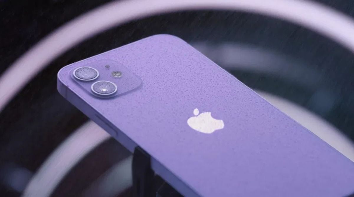 Apple announces a new iPhone 12 in purple color