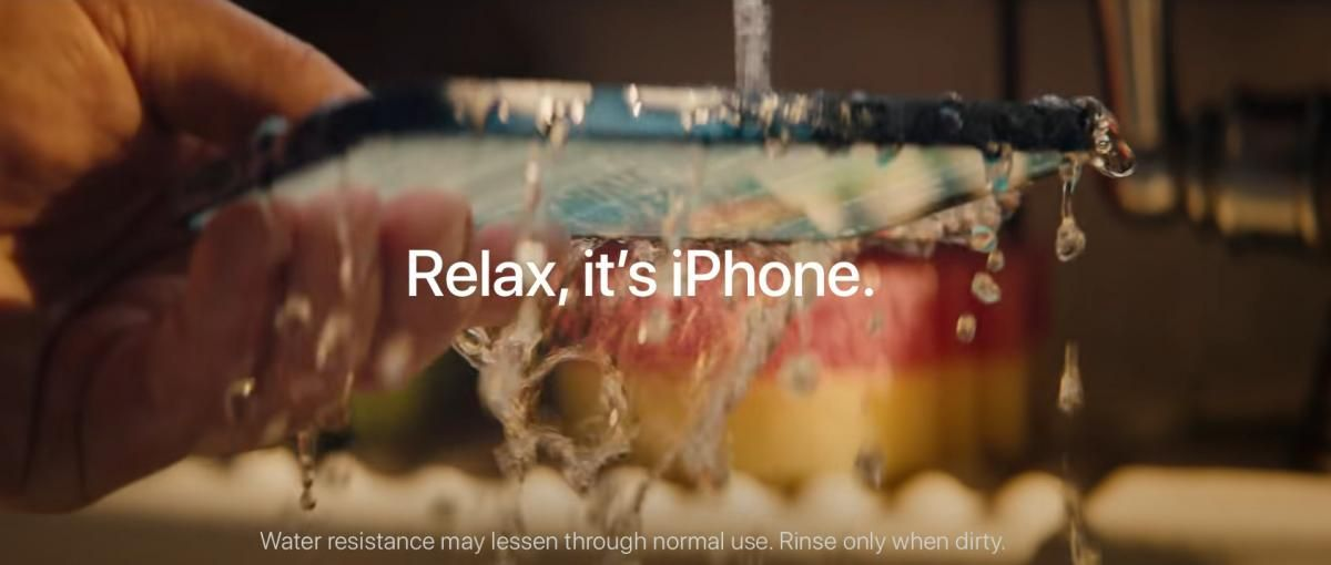 Apple sued for overstating iPhone water resistance