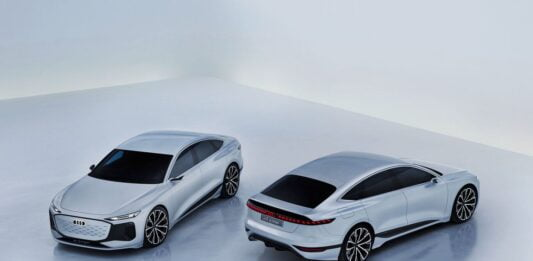 Audi A6 E-Tron, a spectacular electric sedan concept that defines the brand's future