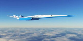 Exosonic Air Force One for the President of the United States: Will cross the country in 2 hours