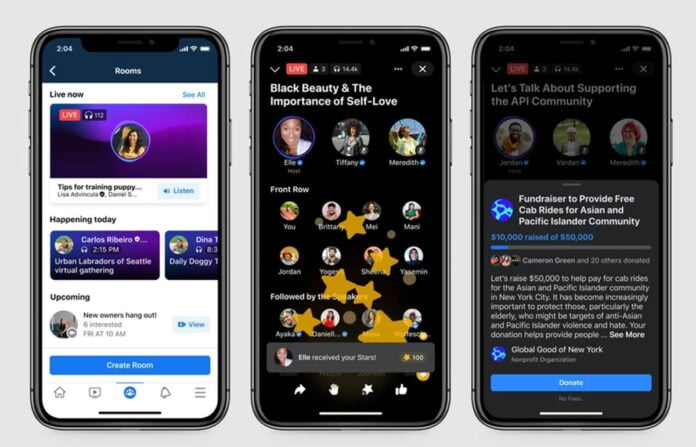 Facebook launches its Clubhouse